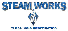 steam works cleaning & restoration logo